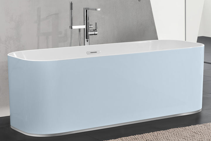 Freistehende badewannen der luxus in ihrem badezimmer - Standarmatur freistehende badewanne ...