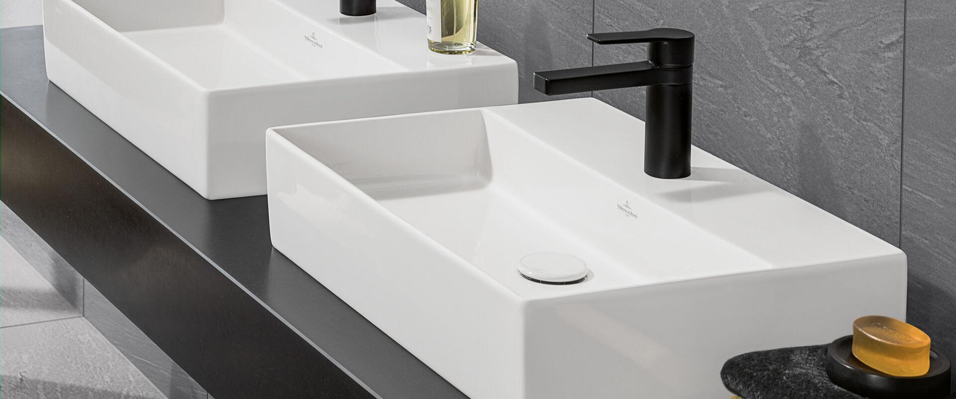 Waschbecken: Villeroy & Boch Memento 2.0