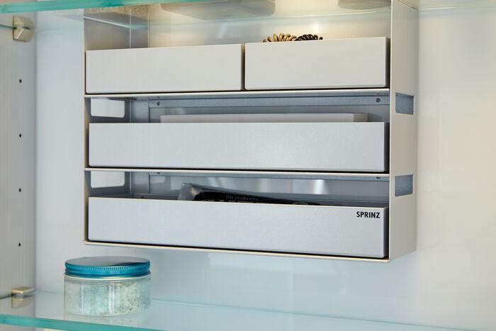 Interio-Line von Sprinz: Kluge Organisation für Spiegelschränke