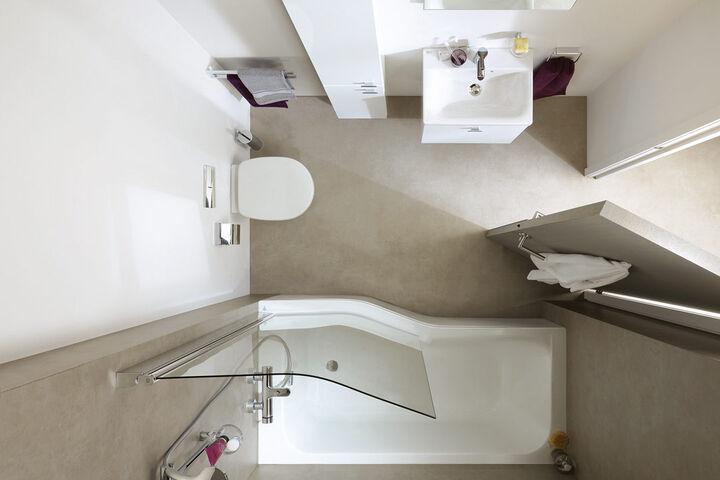Wie ihr kleines Bad ganz groß raus kommt zeigt Splash-Bad