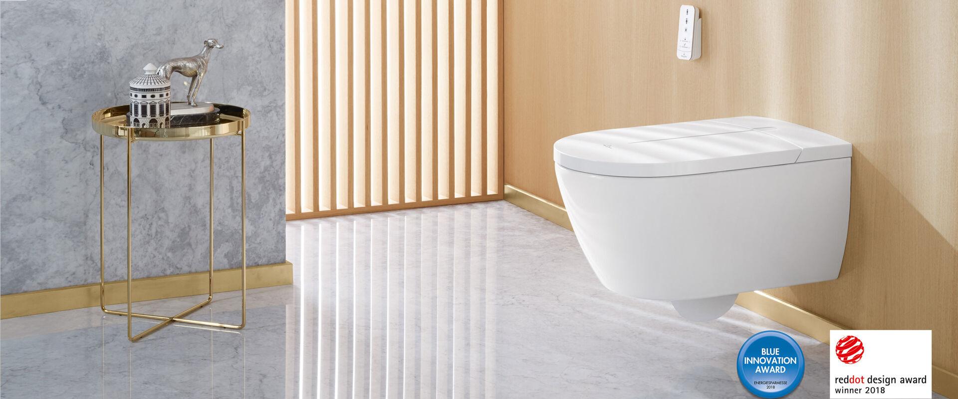 dusch wc viclean i 100 smartes design von villeroy boch. Black Bedroom Furniture Sets. Home Design Ideas