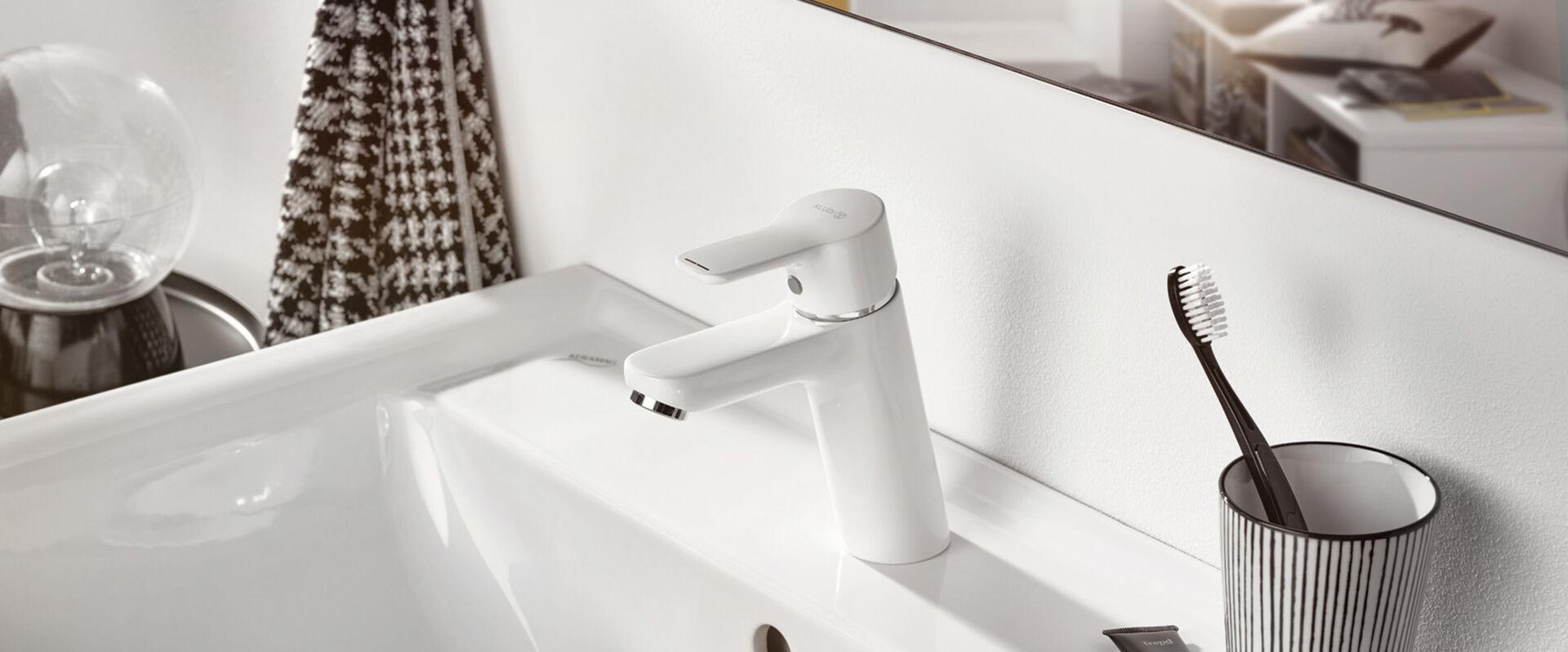 armatur pure function moderne vielseitigkeit von kludi. Black Bedroom Furniture Sets. Home Design Ideas