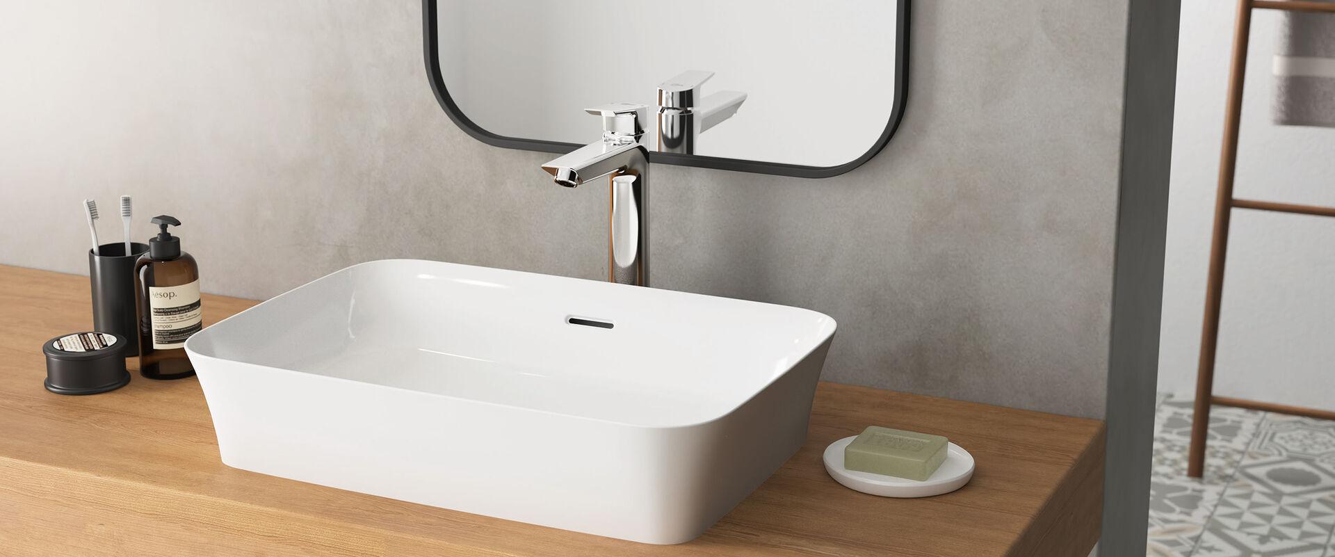 robust und sch n zugleich ideal standard ipalyss. Black Bedroom Furniture Sets. Home Design Ideas