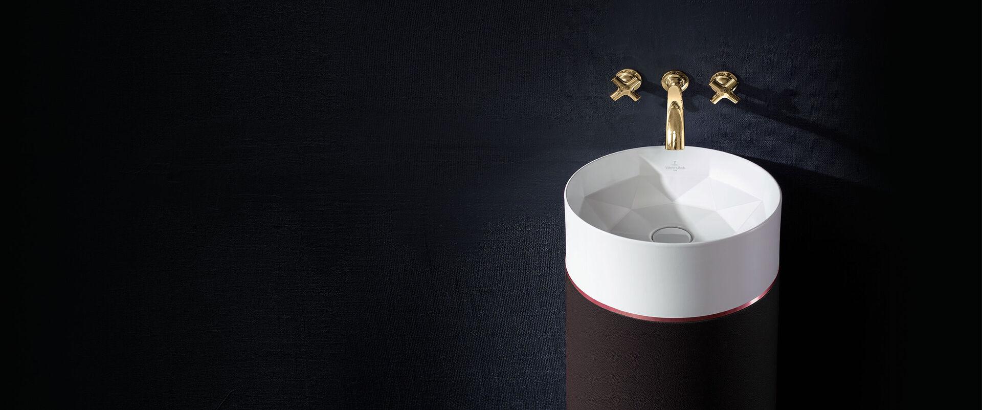 octagon das einzigartige waschbecken von villeroy boch. Black Bedroom Furniture Sets. Home Design Ideas