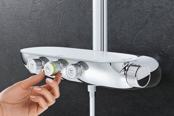 Bekannt Duscharmatur von GROHE - Smart Control drehen,drücken,duschen BH74