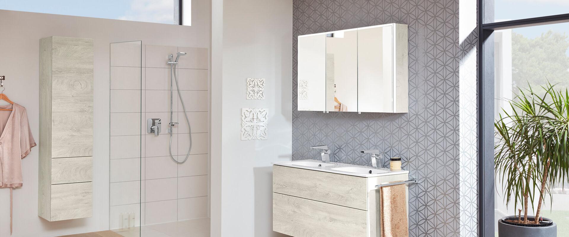 badm bel heibad joy minimalistisches design f r kleine b der. Black Bedroom Furniture Sets. Home Design Ideas