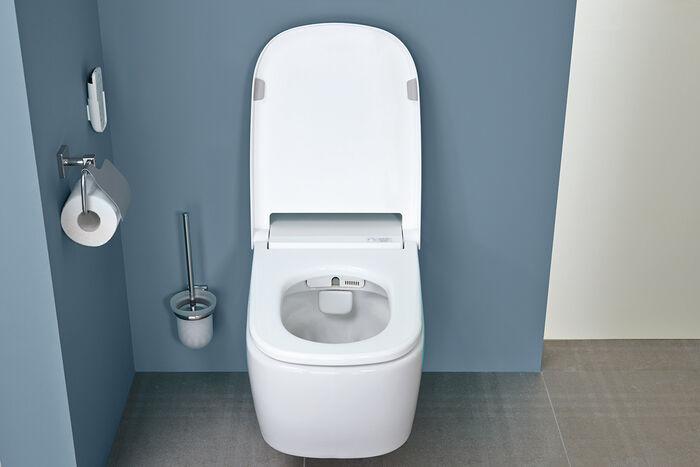 vitra v care dusch wc die reinste form von hygiene. Black Bedroom Furniture Sets. Home Design Ideas