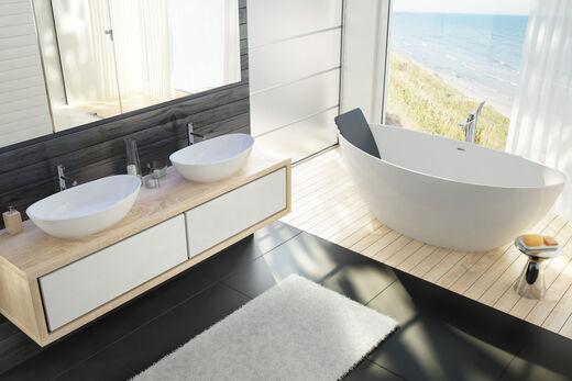 waschbecken namur von hoesch sch n elegant best ndig. Black Bedroom Furniture Sets. Home Design Ideas