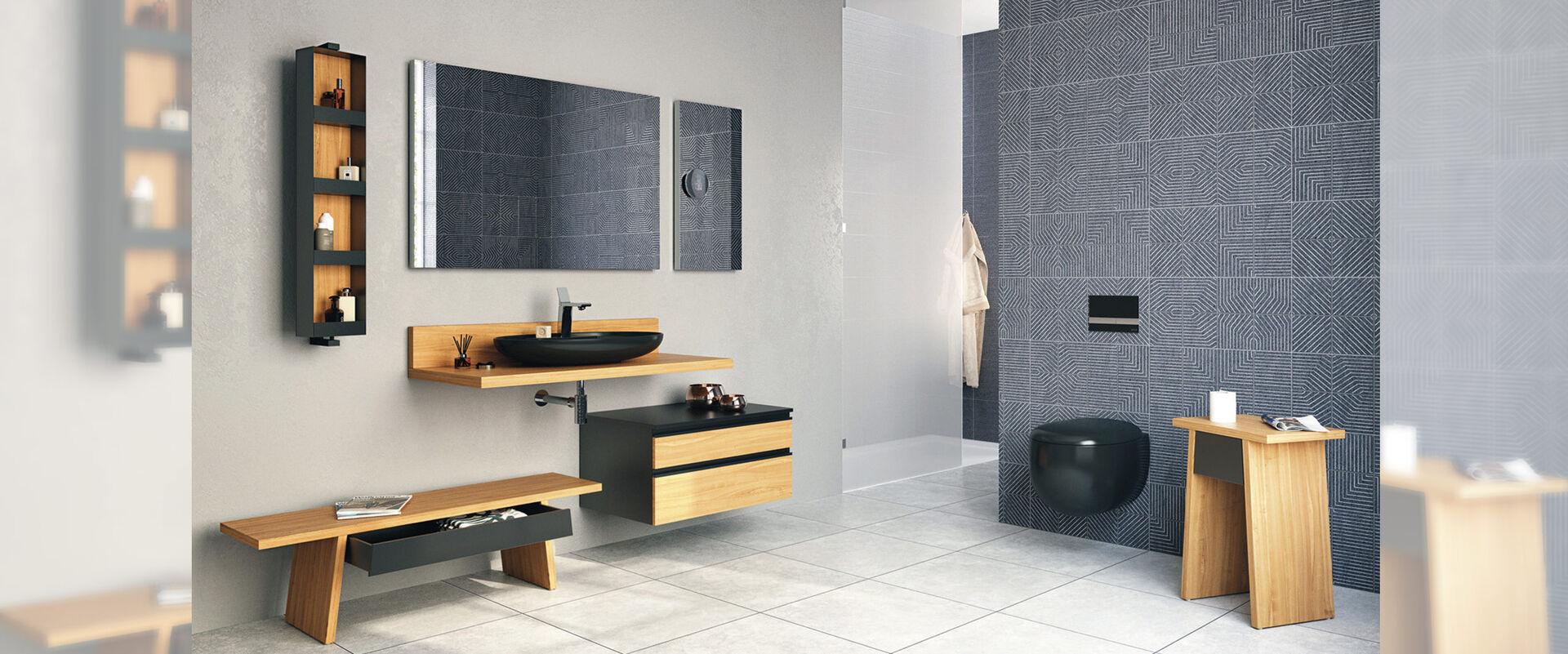 VitrA Memoria Elements - Badmöbel für moderne Ursprünglichkeit