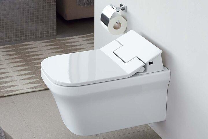 toilette plus bidet gleich dusch wc. Black Bedroom Furniture Sets. Home Design Ideas