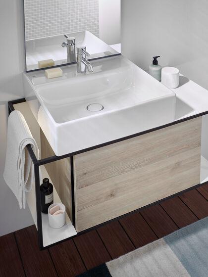 burgbad junit badm bel modulare bauweise in jungem puristischem design. Black Bedroom Furniture Sets. Home Design Ideas
