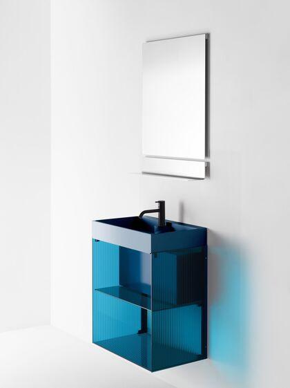 Burgbad Rgb Das Farbig Transparente Badmöbelsystem Für Licht Im Bad