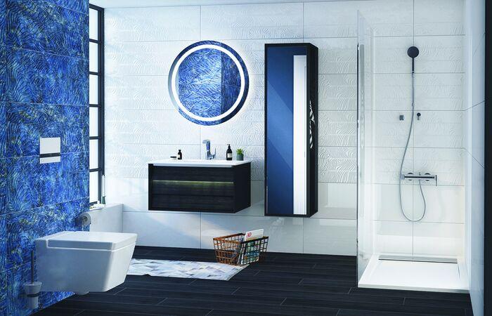 Es kommt Farbe ins Bad - aktuelle Badezimmertrend