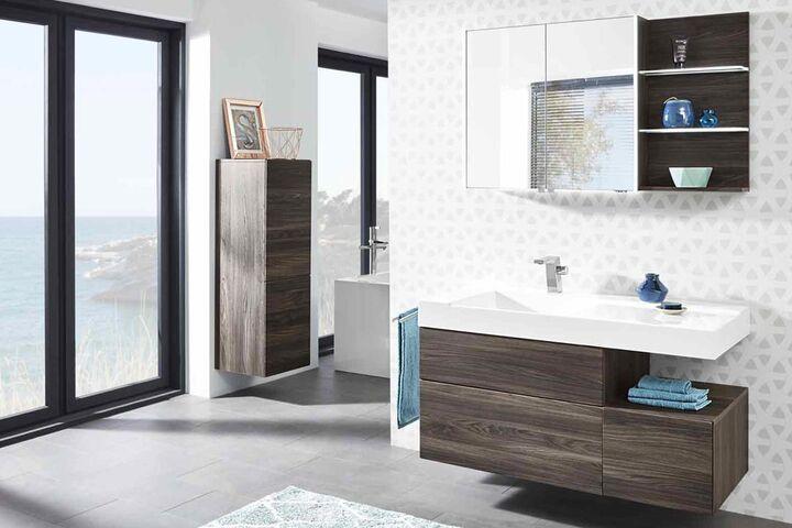 Bad badezimmer modern wohnlich funktional einrichten