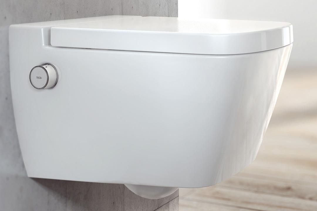 teceone das stilvoll simple dusch wc von tece. Black Bedroom Furniture Sets. Home Design Ideas