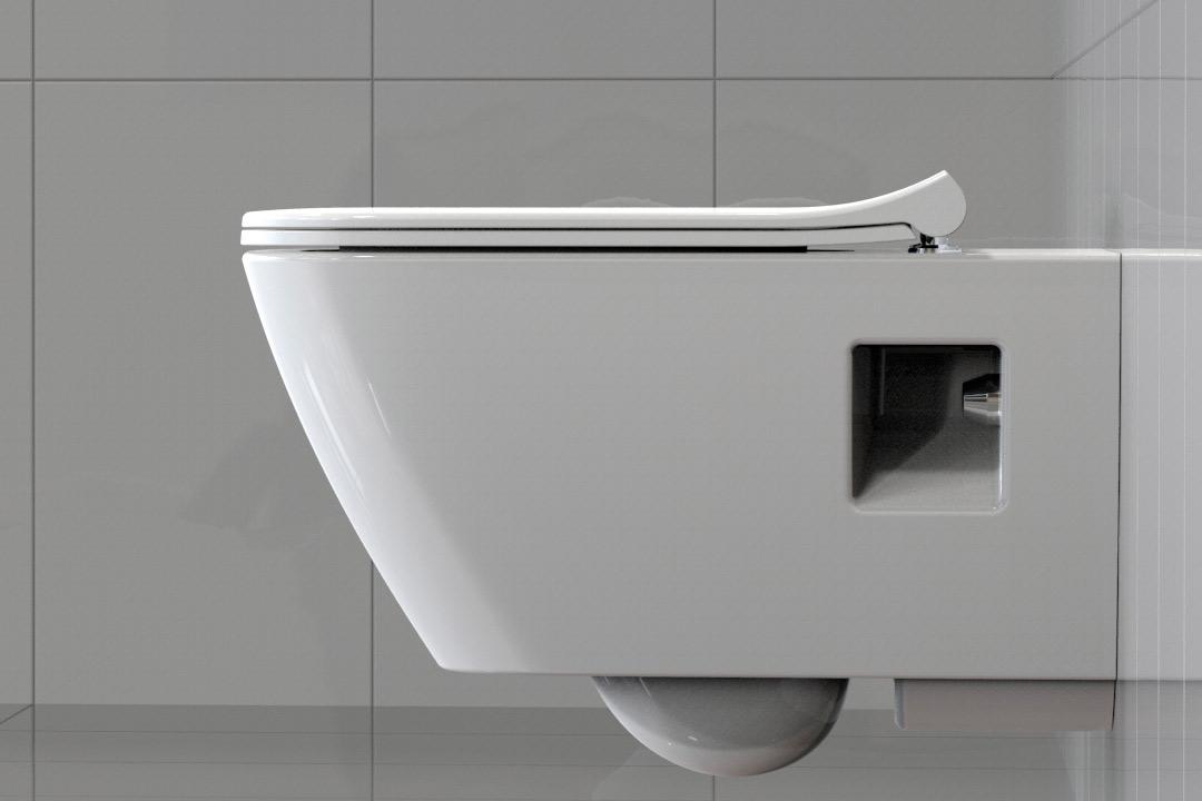 Schlank in der Optik, komfortabel und haltbar: die Slim WC ...