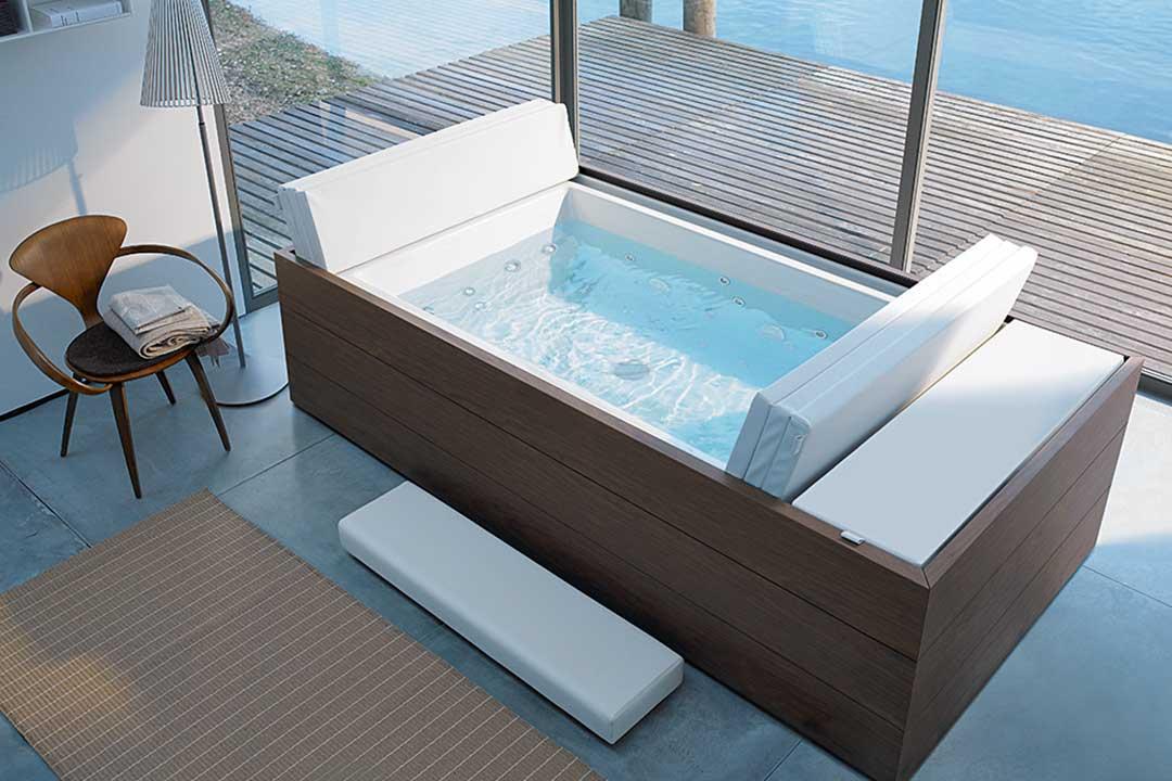 Outdoor-Pools von Duravit als Designobjekte und private ...